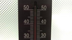サンルーム内の気温46℃