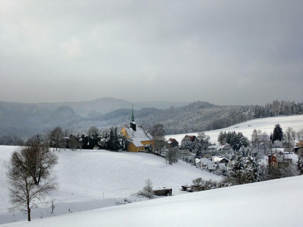 雪、白い世界