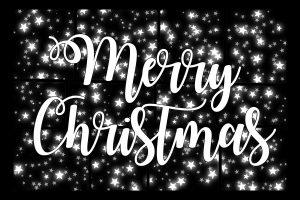 メリークリスマスの文字の画像