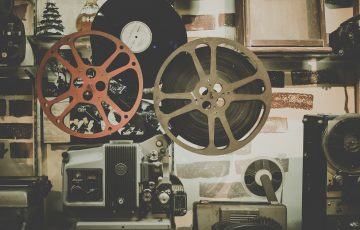 映画カメラ