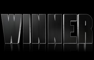勝者winnerのロゴ画像