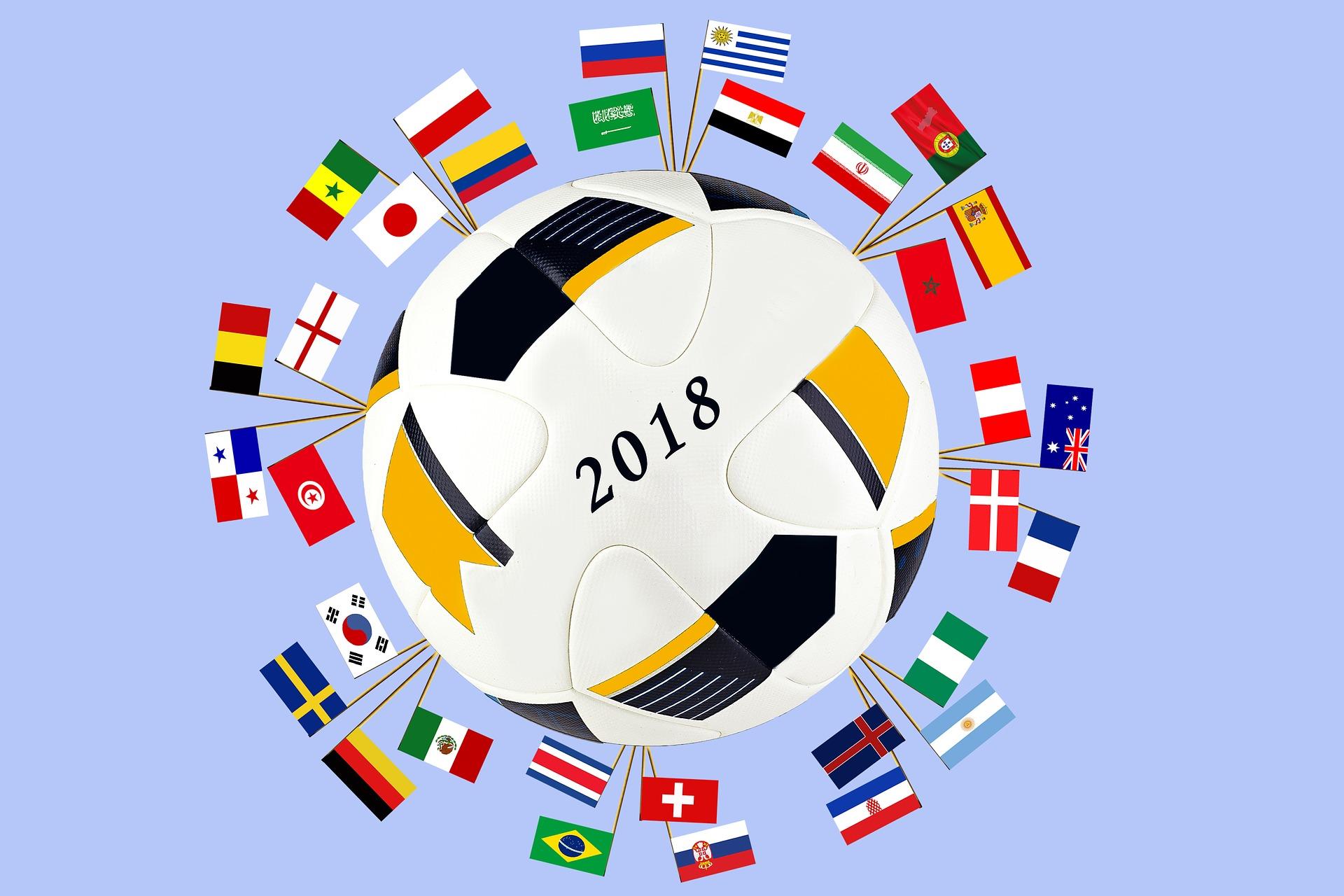 サッカーワールドカップのイメージ画像
