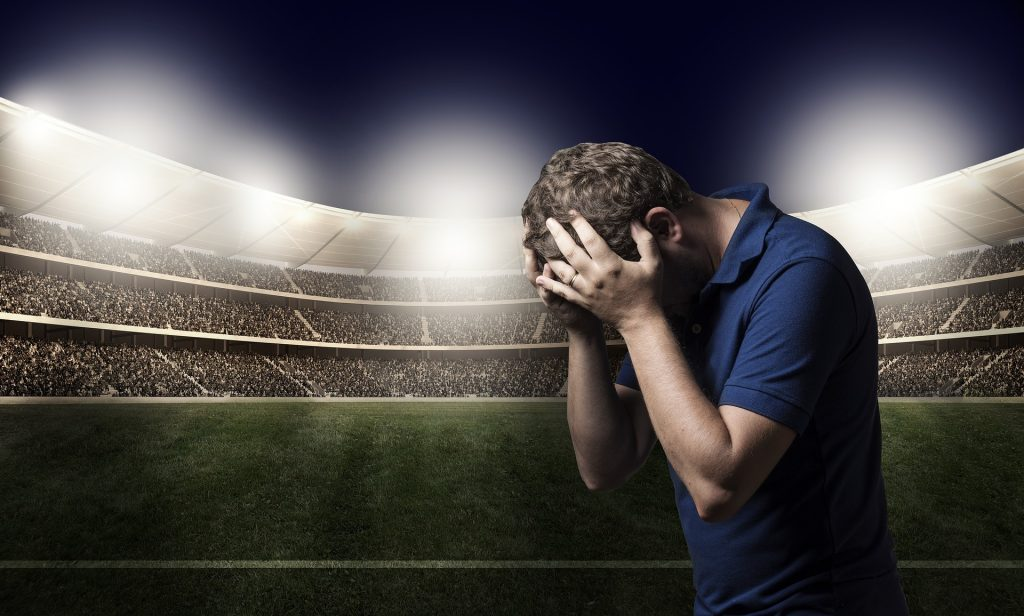 サッカーの悪夢