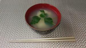 我が家のお雑煮。すまし汁の関東風