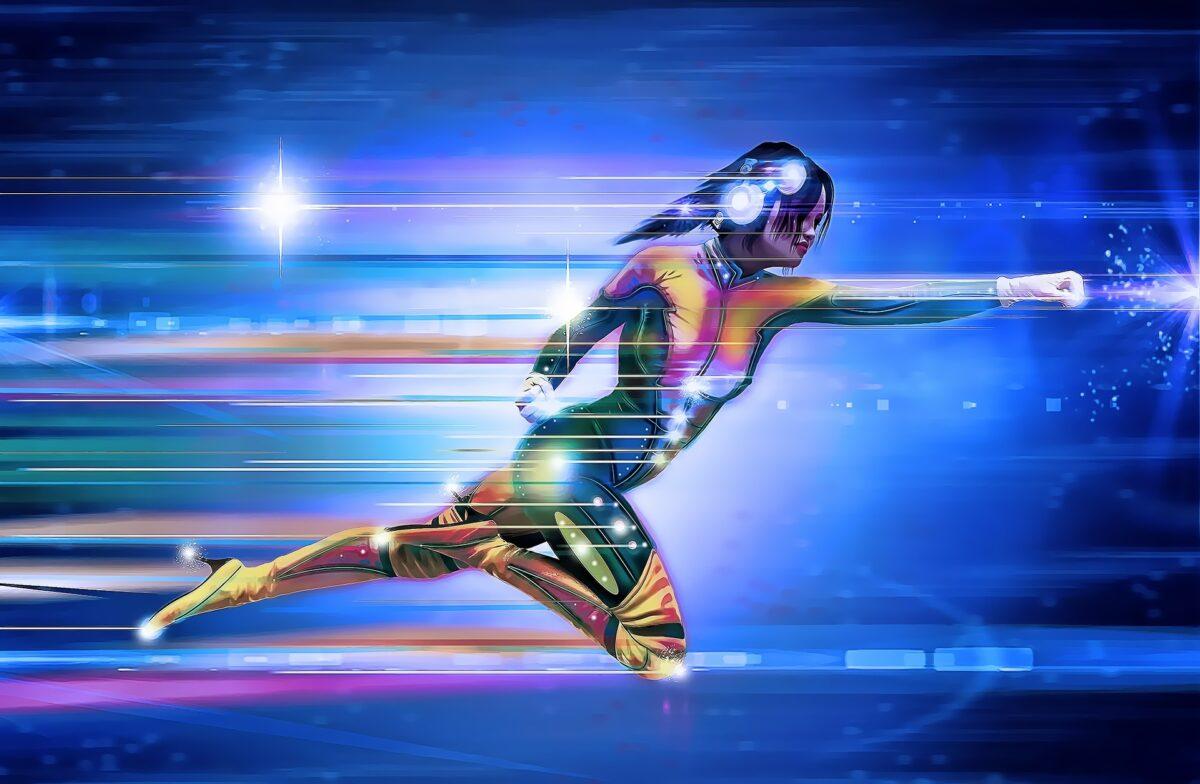 スーパーヒーローウーマン