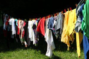 洗濯物たくさん