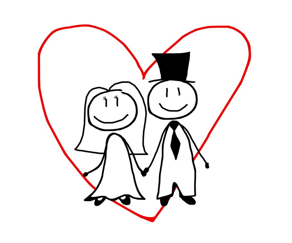 結婚した夫婦のイメージ画像
