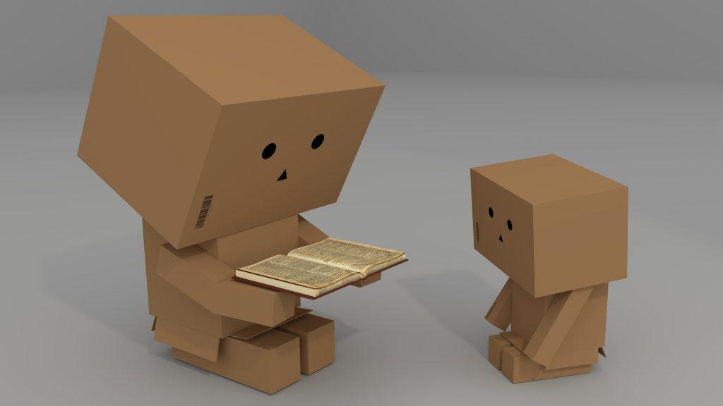 親子で本を読む