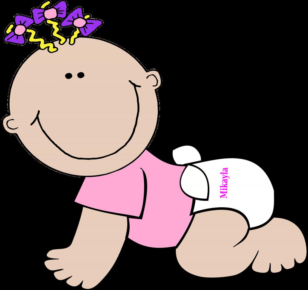 女の子の赤ちゃん