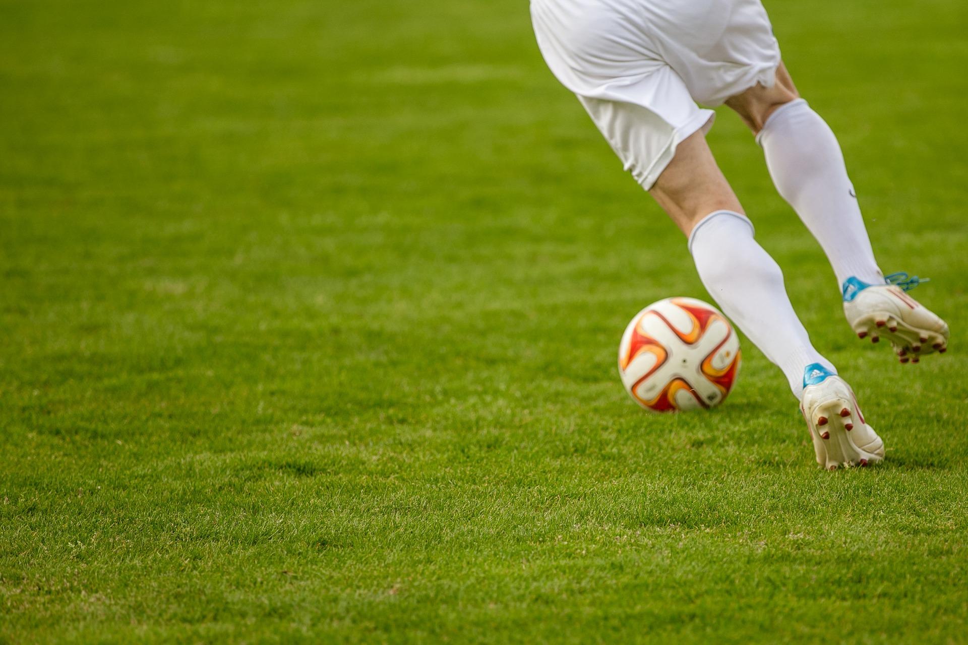 サッカーの試合のイメージ画像