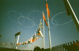 1964年東京オリンピック開会式の引用画像