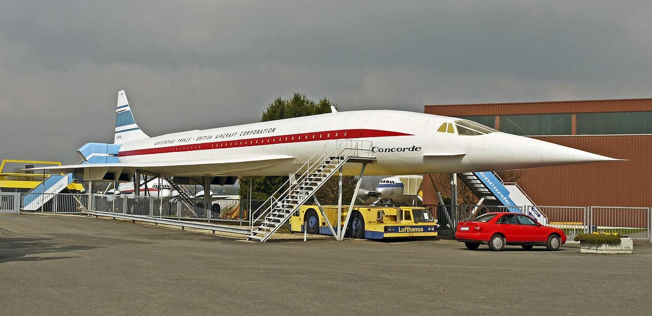 超音速旅客機コンコルドのイメージ画像
