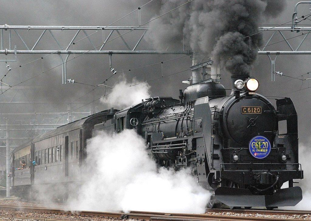 蒸気機関車・鉄道の画像