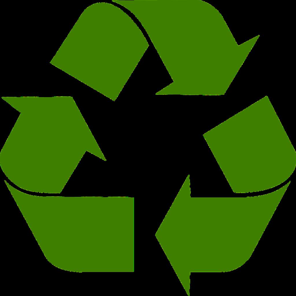 リサイクルのシンボル・マークのイメージ画像