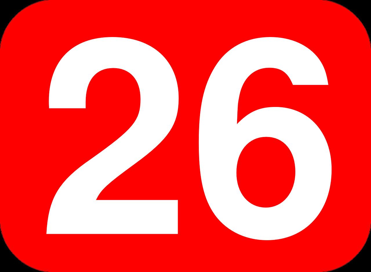 26日のイメージ画像