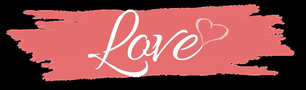 LOVEの文字・イラスト。アメリカ合衆国の愛をささやく日のイメージ