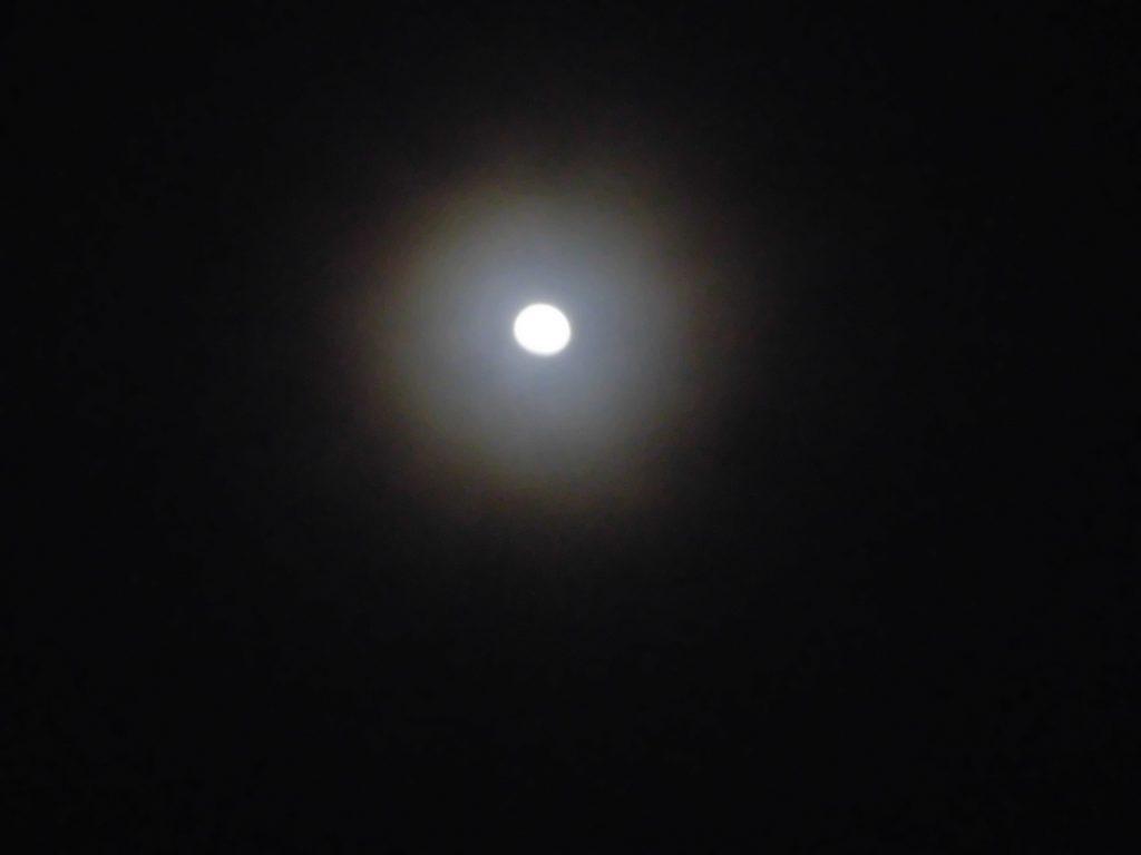 2020年2月6日の月光冠の写真