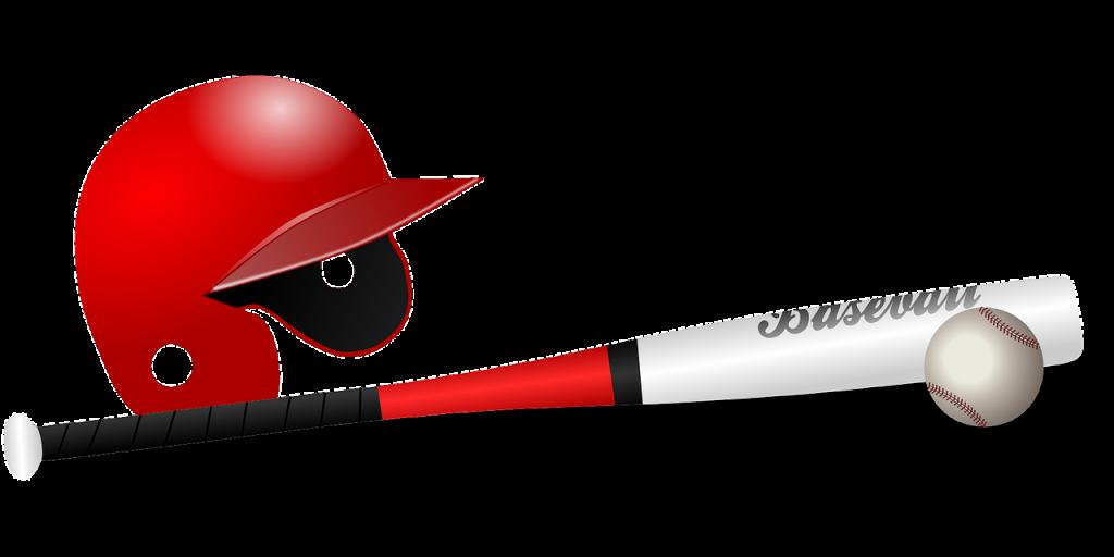 野球の道具のイラスト・ホームラン記念日