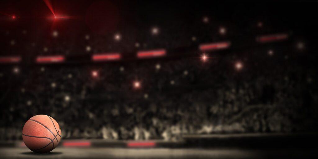 バスケットボール・試合会場の画像