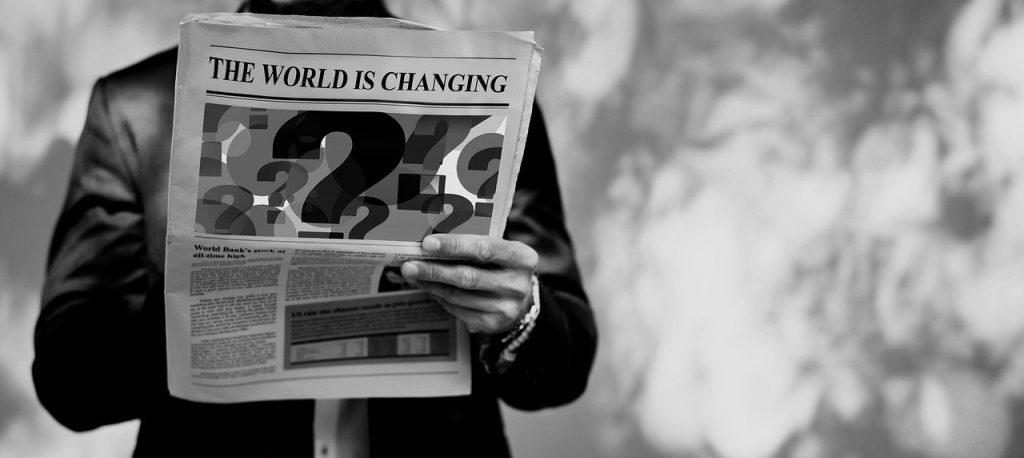 世界・海外・諸外国の出来事のイメージ・新聞