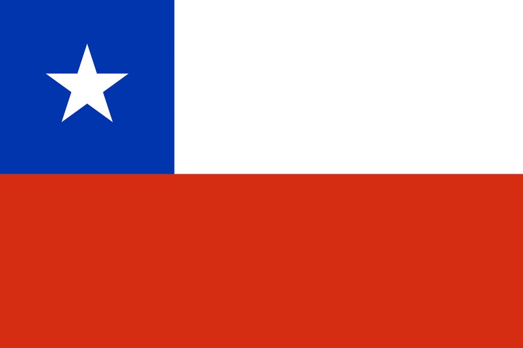 チリの国旗・チリの独立記念日のイメージ画像