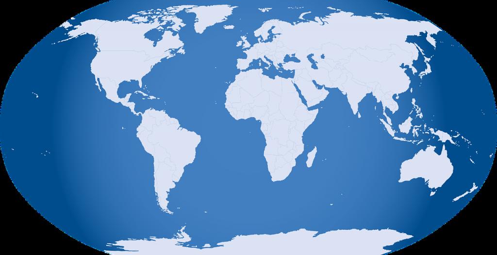 世界・海外の地図