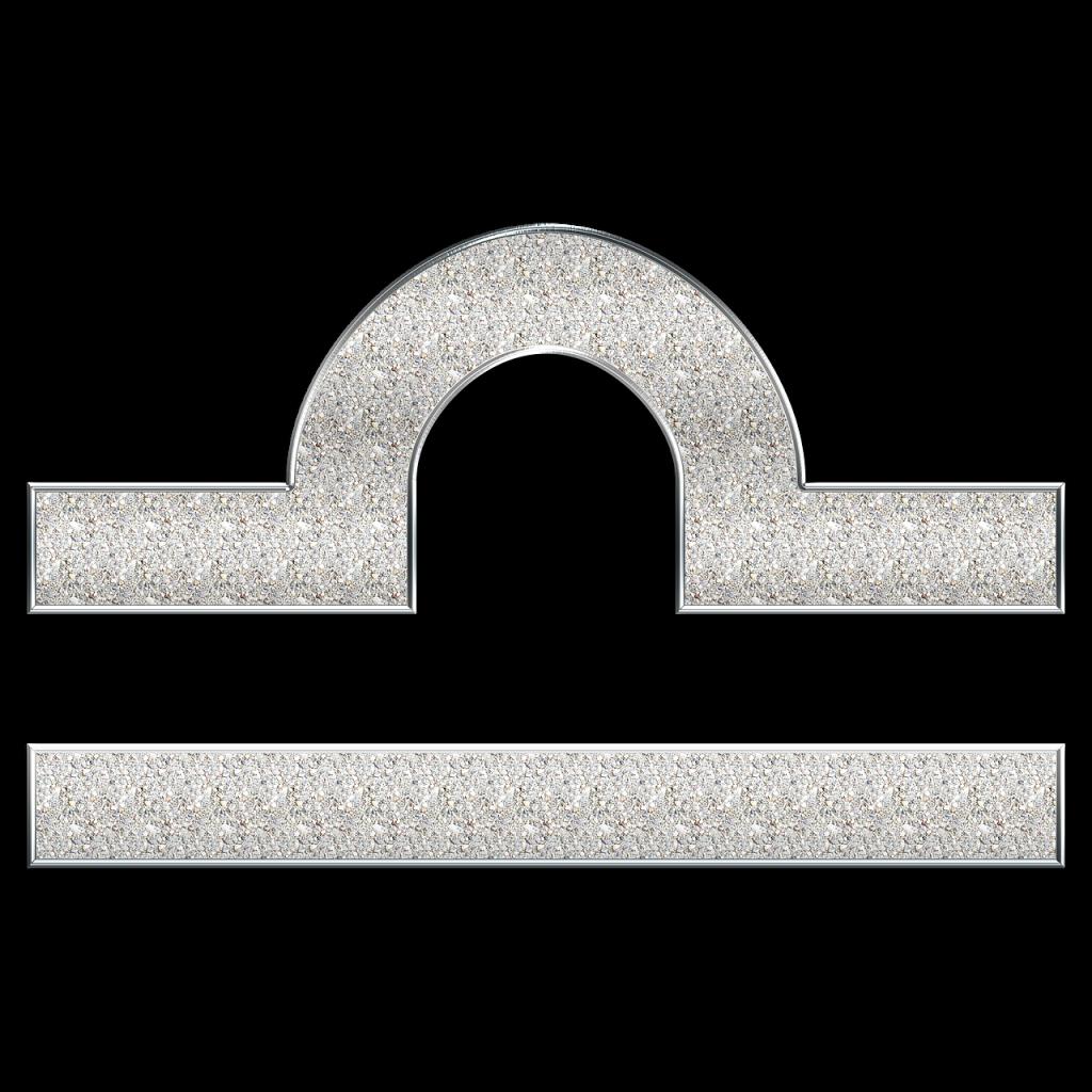 てんびん座のシンボルマーク