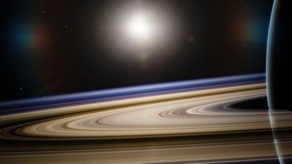 土星・土星の環のイメージ画像