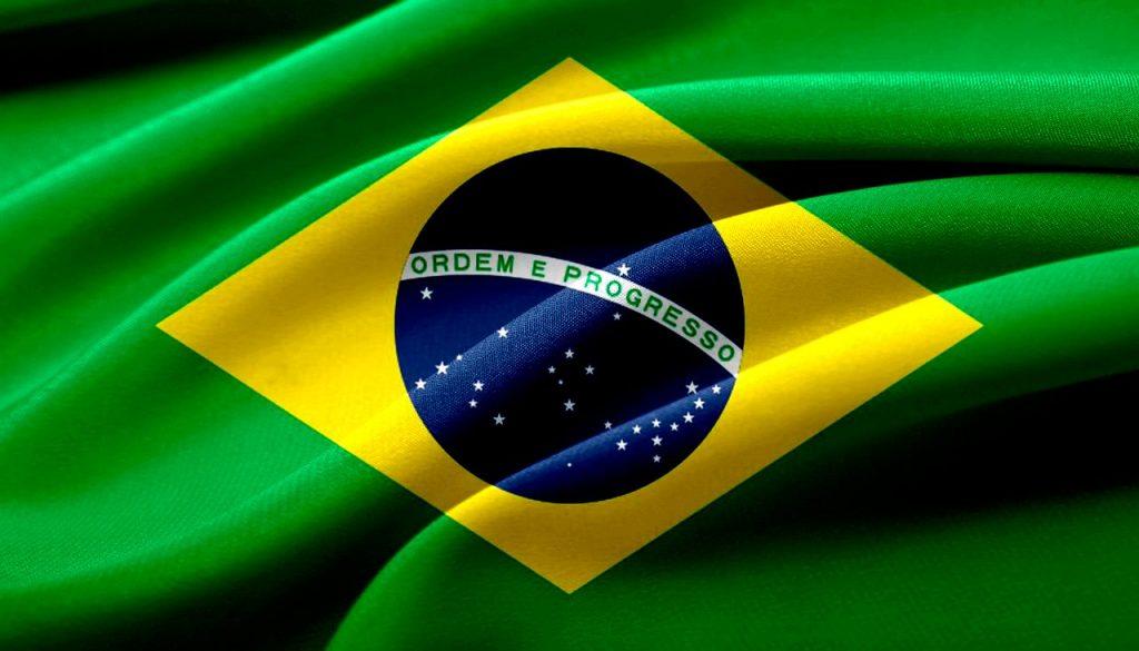 ブラジルの国旗のイメージ画像