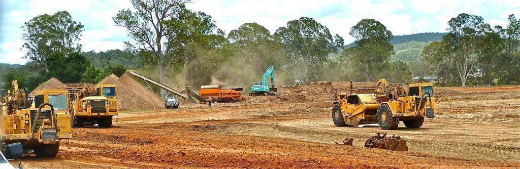 土木作業・土木工事の現場のイメージ画像