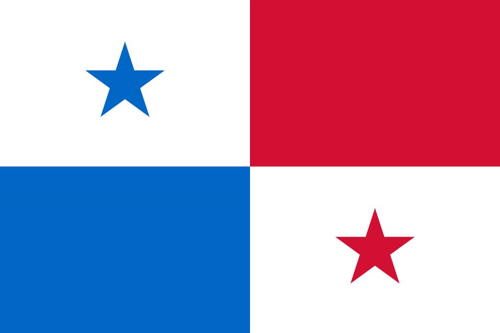 パナマの国旗のイラスト