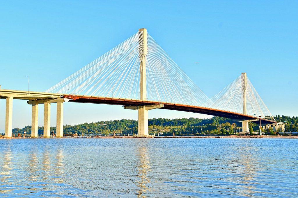 土木の建設物の橋のイメージ画像
