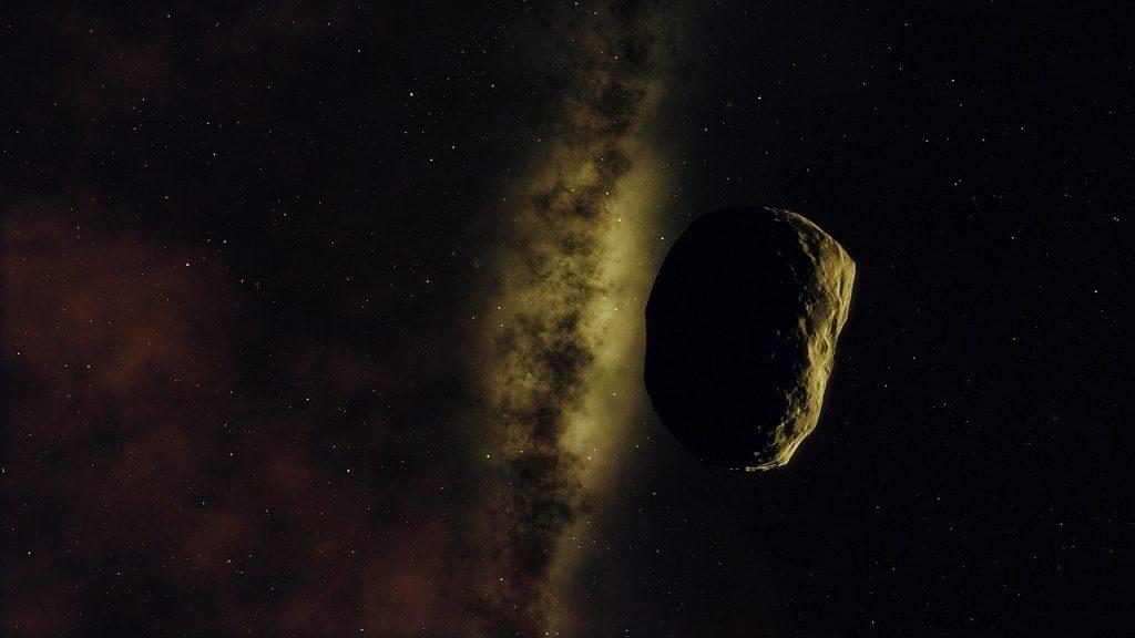 小惑星のイメージ