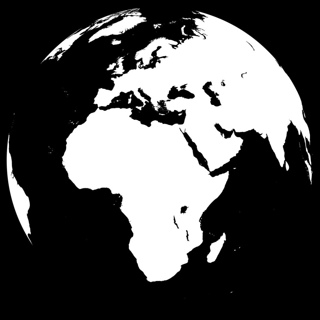 地球・国際とアフリカのイメージ