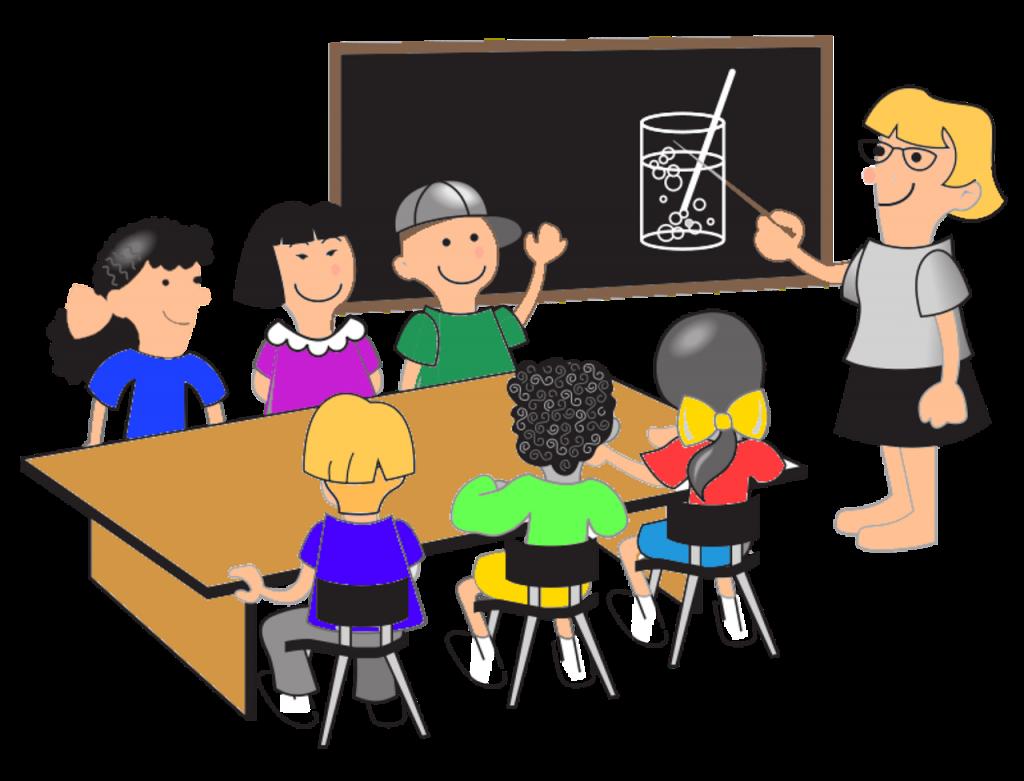 先生と生徒・授業のイメージ画像