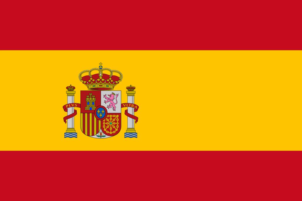 スペイン国旗のイメージ画像