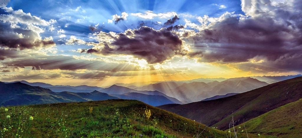 山岳地帯のイメージ画像
